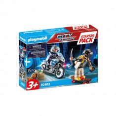 Set politia in urmarire Playmobil City Action