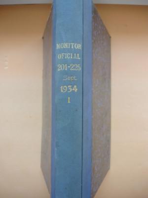 REGATUL ROMANIEI - MONITORUL OFICIAL ( partea I ) - LUNA IUNIE 1934 foto