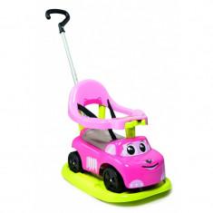 Masinuta pentru copii Smoby 4 in 1 roz