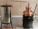 Cazan Tuica 100 Litri Basculant cu Amestecator