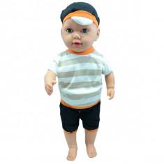 Papusa baietel 60 cm pentru copii 3+ ani NN 050851P, Multicolor