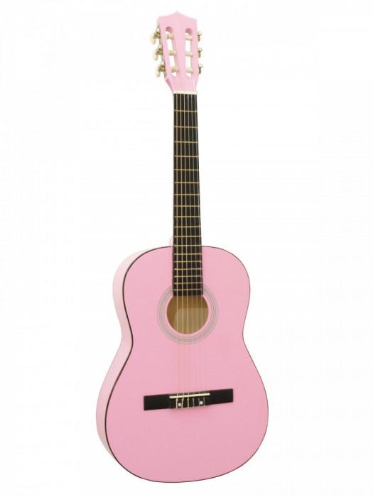Chitara clasica 3/4, roz, Dimavery AC-303PK