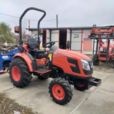Tractor nou, 4x4 de 28CP Kioti CK2810, cadru ROPS