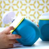 Dispozitiv de hranire Baby Squeez 2 in 1 albastru