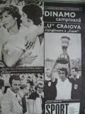 Revista Sport (1977) Universitatea Craiova ia Cupa si Dinamo Bucuresti campioana