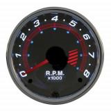Turometru benzina chrome series 52mm - 4 cilindri carpoint