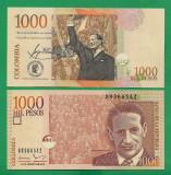 = COLOMBIA - 1000 PESOS - 2015 - UNC   =