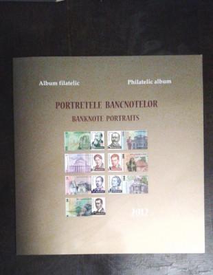 Album filatelic - 2012 - Portretele bancnotelor, nr. lista 1932b, pret lista 184 foto