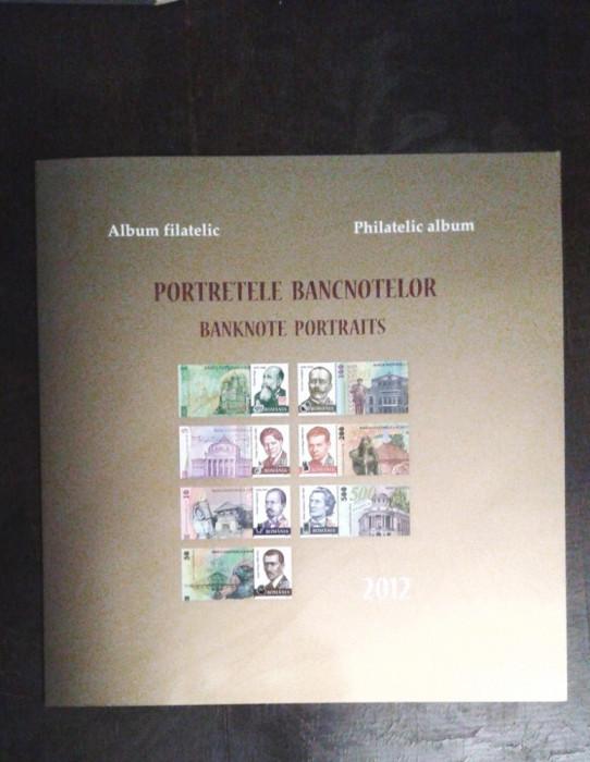 Album filatelic - 2012 - Portretele bancnotelor, nr. lista 1932b, pret lista 184