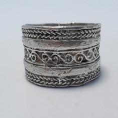 INEL argint ARVI etnic TRIBAL vechi INDIA executat manual in argint brut VINTAGE
