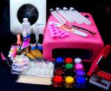 Set profesional pentru constructia unghiilor cu gel