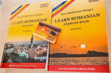 Learn romanian - Manual and exercise book set (2 volumes)
