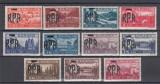 ROMANIA 1948 LP 229 MIHAI VEDERI SUPRATIPAR R.P.R. SERIE MNH, Nestampilat