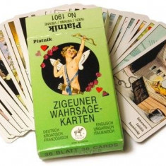 Carti TAROT TIGANESTI/TAROT TIGANESC/GYPSY CARDS/$$$ ORIGINALE SIGILATE + CARTE