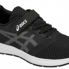 Pantofi alergare Asics Patriot 10 PS 1014A026-004 pentru Copii, 28.5, 30.5, Negru
