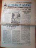 Ziarul romania mare 9 iulie 1993