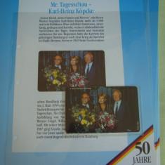 """3 Cartele Telefonice """"50 Jahre Deutschland"""" - Exponate NOI / 15"""