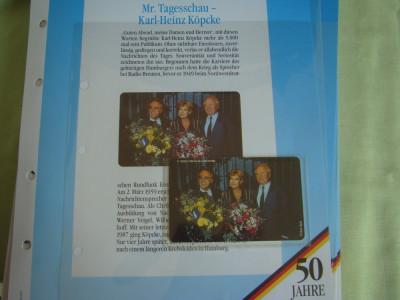 """3 Cartele Telefonice """"50 Jahre Deutschland"""" - Exponate NOI / 15 foto"""
