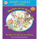 The Fox and the Stork with The Man, His Son and the Donkey - Aesop's Fables