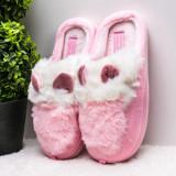 Papuci dama de casa roz deschis Cuisia-rl