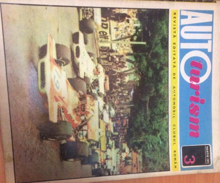 AUTOTURISM  Nr 3  Anul  1972