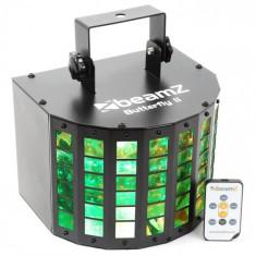 Beamz Butterfly II LED-uri Mini Derby 6x3W RGBAWP IR