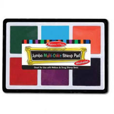 Tusiera Melissa si Doug Jumbo cu Cerneala Nontoxica 6 Culori