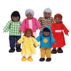 Familie 6 Membrii Afro-Americane foto