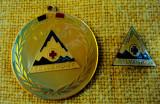 Insigna si  medalie   SALVAMONT