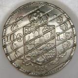 România, 100 lei 1936_demonetizată * cod 112, Crom