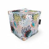 Cumpara ieftin Fotoliu Units Puf (Bean Bags) tip cub, impermeabil, frunze multicolore