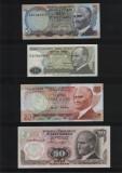 Lot / Set 12 bancnote diferite Turcia / lire / turk lirasi / necirculate