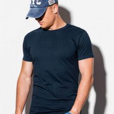 Tricou barbati S884 - bleumarin-inchis