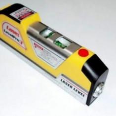 Nivela Multifunctionala cu laser + ruleta + boloboc