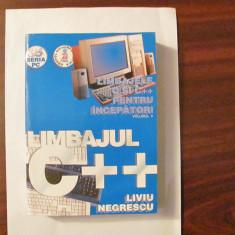"GE - Liviu NEGRESCU ""Limbajul C++"""
