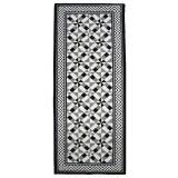 Covor pentru interior din poliamida Utopia Collection, gri/negru