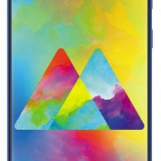 Telefon Mobil Samsung Galaxy M20, Procesor Exynos 7904, Octa-Core 1.8/1.6GHz, PLS TFT Capacitive touchscreen 6.3inch, 3GB RAM, 32GB Flash, Camera Dual, Albastru, Neblocat, Smartphone