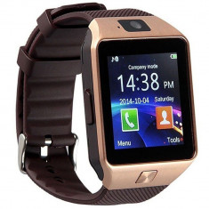 Ceas Smartwatch iUni DZ09, BT, Camera 1.3MP, 1.54 Inch, Auriu