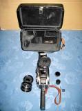 7834-I-Aparat Filmat URSS Quartz DS 8-M cutie piele groasa. St. FB.