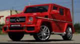 Masinuta electrica pentru copii Mercedes G63 SUV 12V Eva Tyre #Rosu