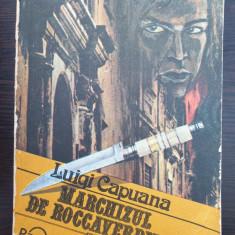 MARCHIZUL DE ROCCAVERDINA - Luigi Capuana
