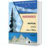 Matematica. Manual (cl. a VIII-a)
