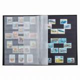 Leuchhturm clasoare pt timbre 16 foi negre / 32 pagine format A4