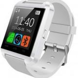 Resigilat! Smartwatch iUni U8+, BT, LCD 1.44 inch, Notificari , Bluetooth, Alb