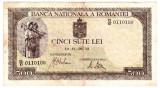 Bancnota 500 lei 20 IV 1942 aprilie filigran vertical (2)