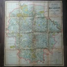 Harta Bucuresti 1941