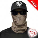 Bandana/Face Shield/Cagula/Esarfa - Desert Camo, SA Co. original