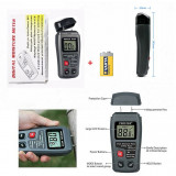 Aparat Umidometru Digital Detectarea Gradului Umiditate + Baterii 9 v - 110AG