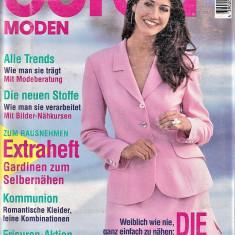 Burda revista de moda + Insert in limba romana 2/1995  (croitorie)