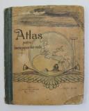 ATLAS PENTRU ISTORIA POPOARELOR VECHI de VASILE T. DIMITRESCU , 1912, STARE PROASTA *